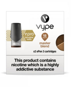 Vype - Master Blend 20mg Salt Nic Pods