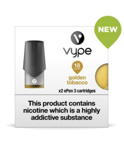 Golden Tobacco Vype Epen Cartridges