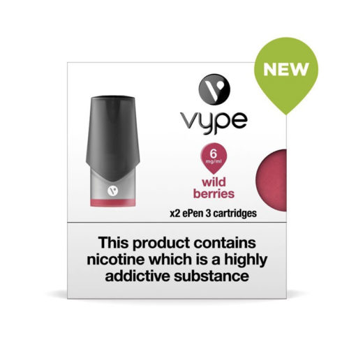 Wild Berries Vype Epen Cartridges
