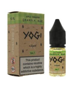Yogi Salts - Apple Cinnamon Granola Bar Nic Salt