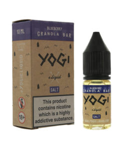 Yogi Salts - Blueberry Granola Bar Nic Salt