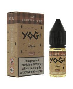Yogi Salts - Java Granola Bar Nic Salt
