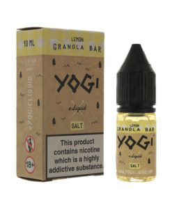 Yogi Salts - Lemon Granola Bar Nic Salt