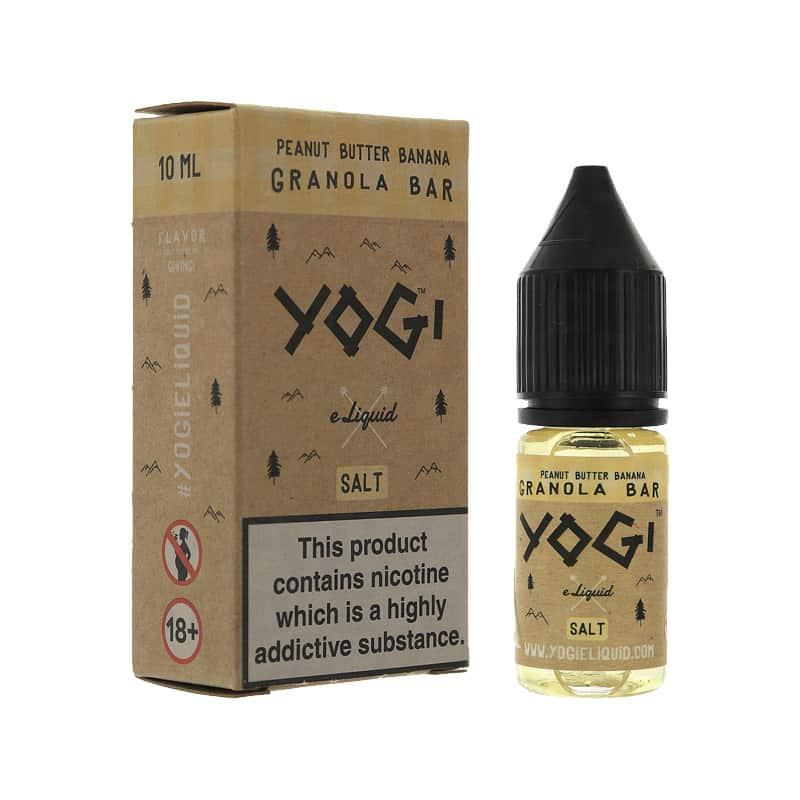 Yogi Salts - Peanut Butter Banana Granola Bar Nic Salt