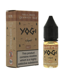 Yogi Salts - Vanilla Tobacco Granola Bar Nic Salt