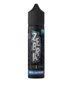 Zebra Black Z Series - Royal Raspberry 50ml Eliquid Short Fill