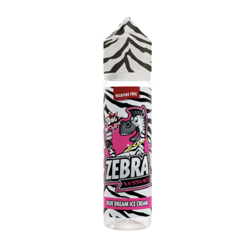 Zebra Dessertz - Blue Dream Ice Cream 50ml Short Fill