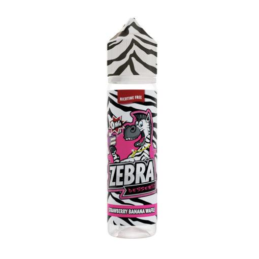 Zebra Juice - Strawberry Banana Waffle 50ml Short Fill