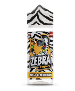 Zebra Fruitz - Mango Blackcurrant 100ml Short Fill