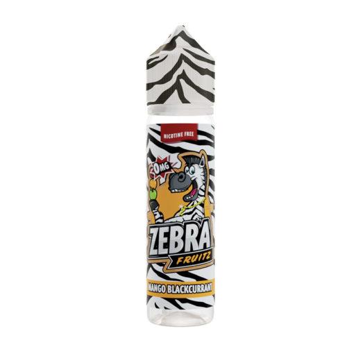 Zebra Fruitz - Mango Blackcurrant 50ml Short Fill
