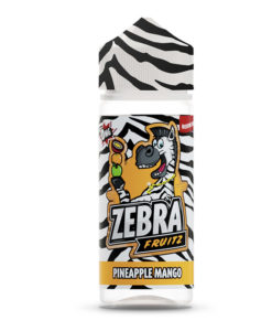 Zebra Fruitz - Pineapple Mango 100ml Short Fill