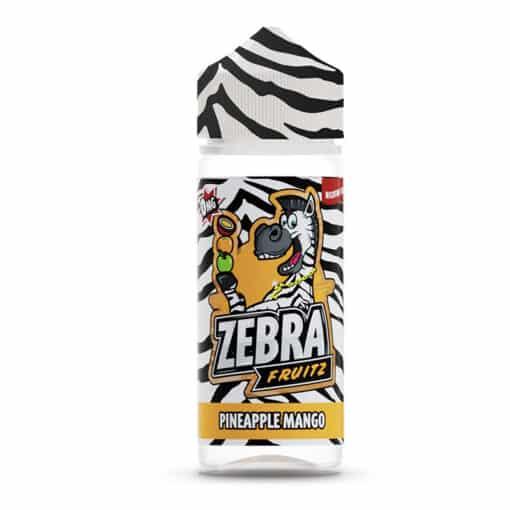 Zebra Fruitz - Pineapple Mango 100ml Short Fill