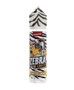 Zebra Fruitz - Twisted Lemon 50ml Short Fill