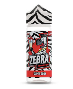 Zebra Refreshmentz - Super Soda 100ml Short Fill