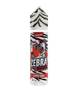 Zebra Refreshmentz - Super Soda 50ml Short Fill