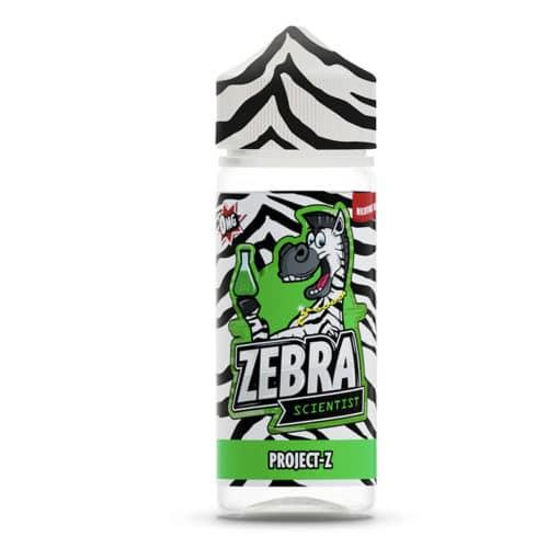 Zebra Scientist - Project-Z 100ml Short Fill