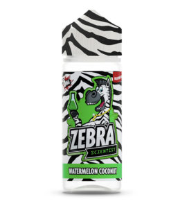 Zebra Scientist - Watermelon Coconut 100ml Short Fill