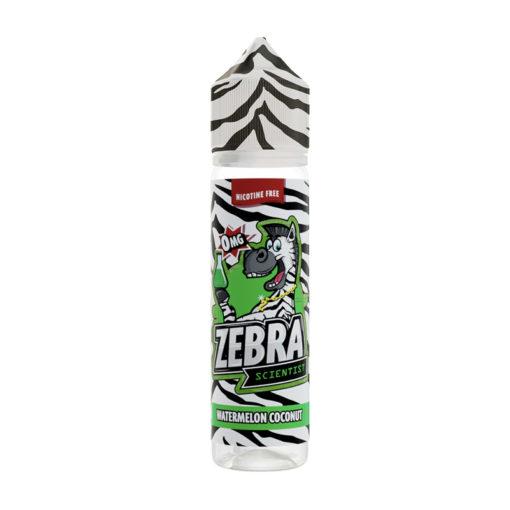 Zebra Scientist - Watermelon Coconut 50ml Short Fill