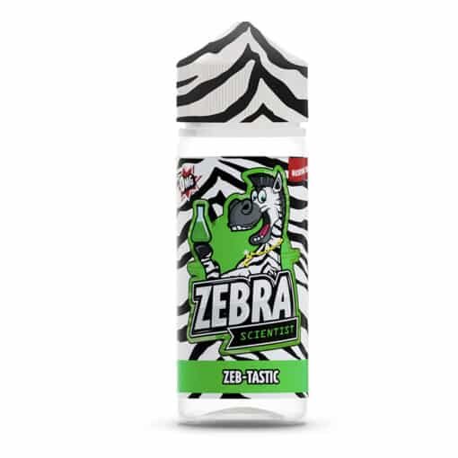 Zebra Scientist - Zeb-Tastic 100ml Short Fill