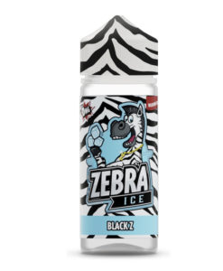 Zebra Ice - Black Z 100ml Short Fill