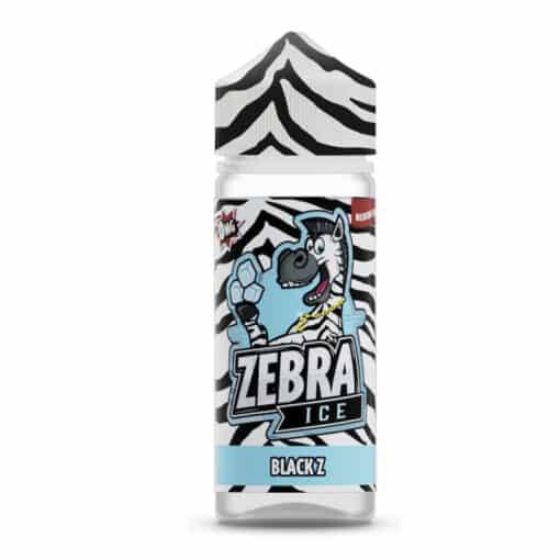 Zebra Ice - Black Z 100ml Short Fill