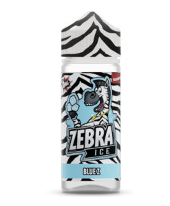 Zebra Ice - Blue Z 100ml Short Fill