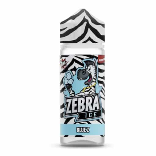 Zebra Ice - Blue Z 100ml Short Fill