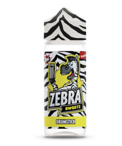 Zebra Sweetz - Drumstick 100ml Short Fill