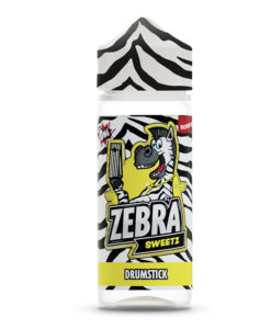Zebra Sweetz - Drumstick 100ml Short Fill