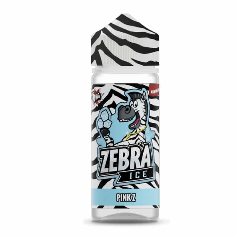 Zebra Ice - Pink Z 100ml Short Fill