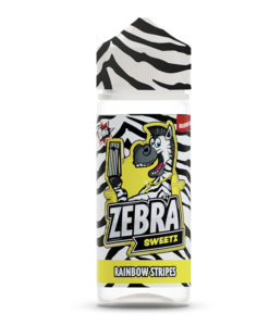 Zebra Sweetz - Rainbow Stripes 100ml Short Fill
