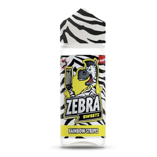 Zebra Sweetz - Rainbow Stripes 100ml Short Fill