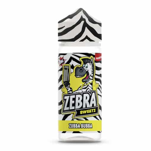 Zebra Sweetz - Zubba Bubba 100ml Short Fill