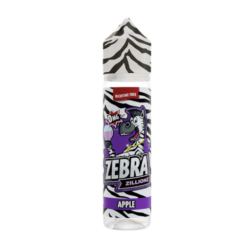 Zebra Zillions - Apple Zillionz 50ml Short Fill