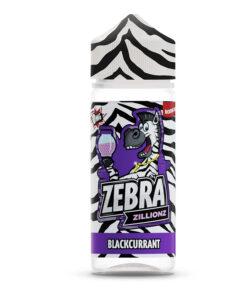 Zebra Zillions - Blackcurrant Zillionz 100ml Short Fill