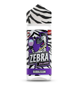 Zebra Zillions - Bubblegum Zillionz 100ml Short Fill