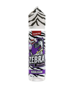 Zebra Zillions - Bubblegum Zillionz 50ml Short Fill