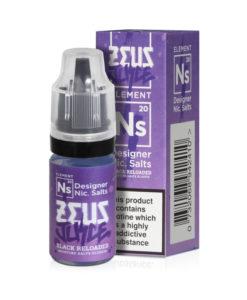 Zeus Juice - Black Reloaded 10mg & 20mg Nic Salt